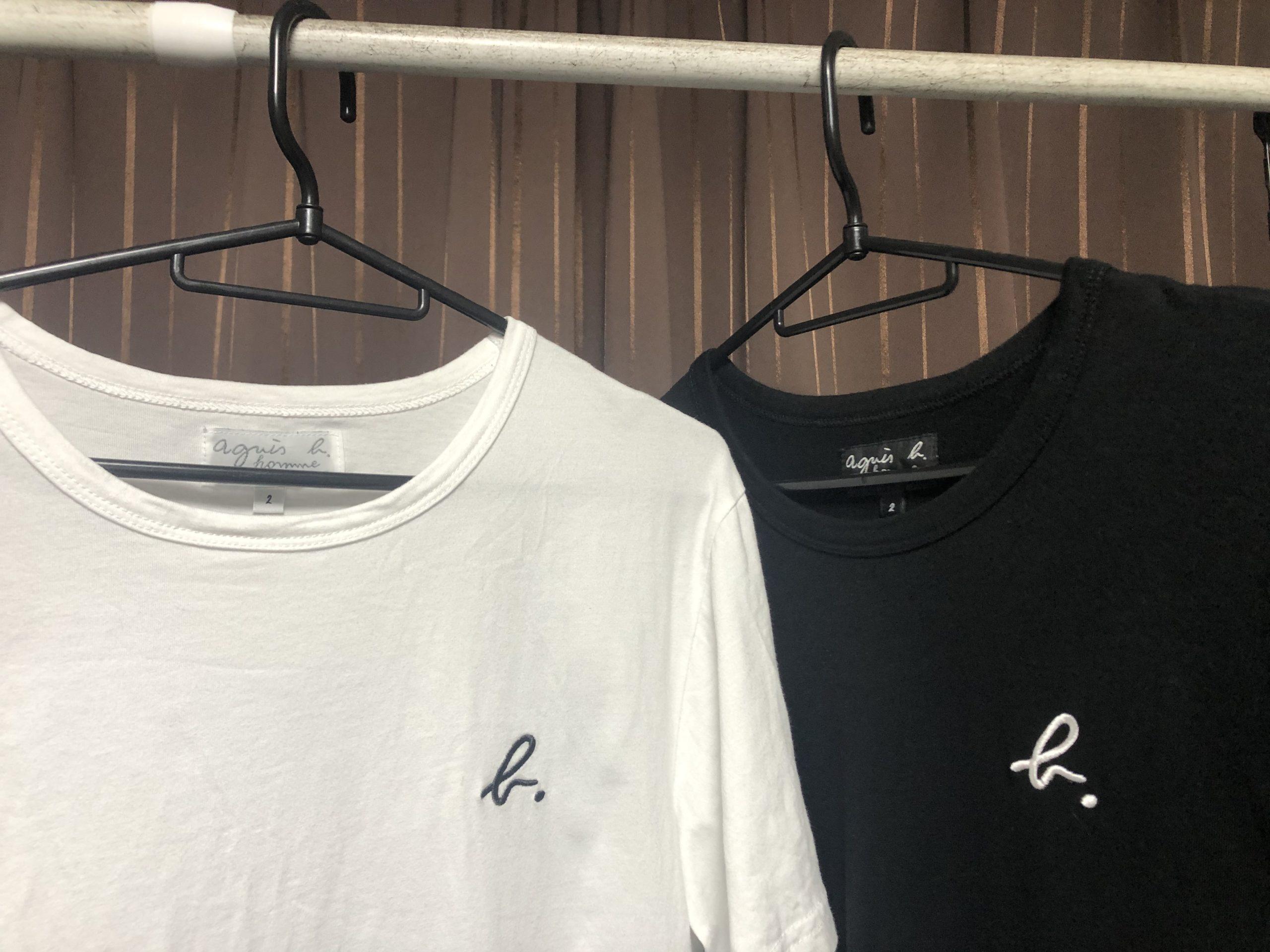 アニエスベーメンズロゴTシャツ