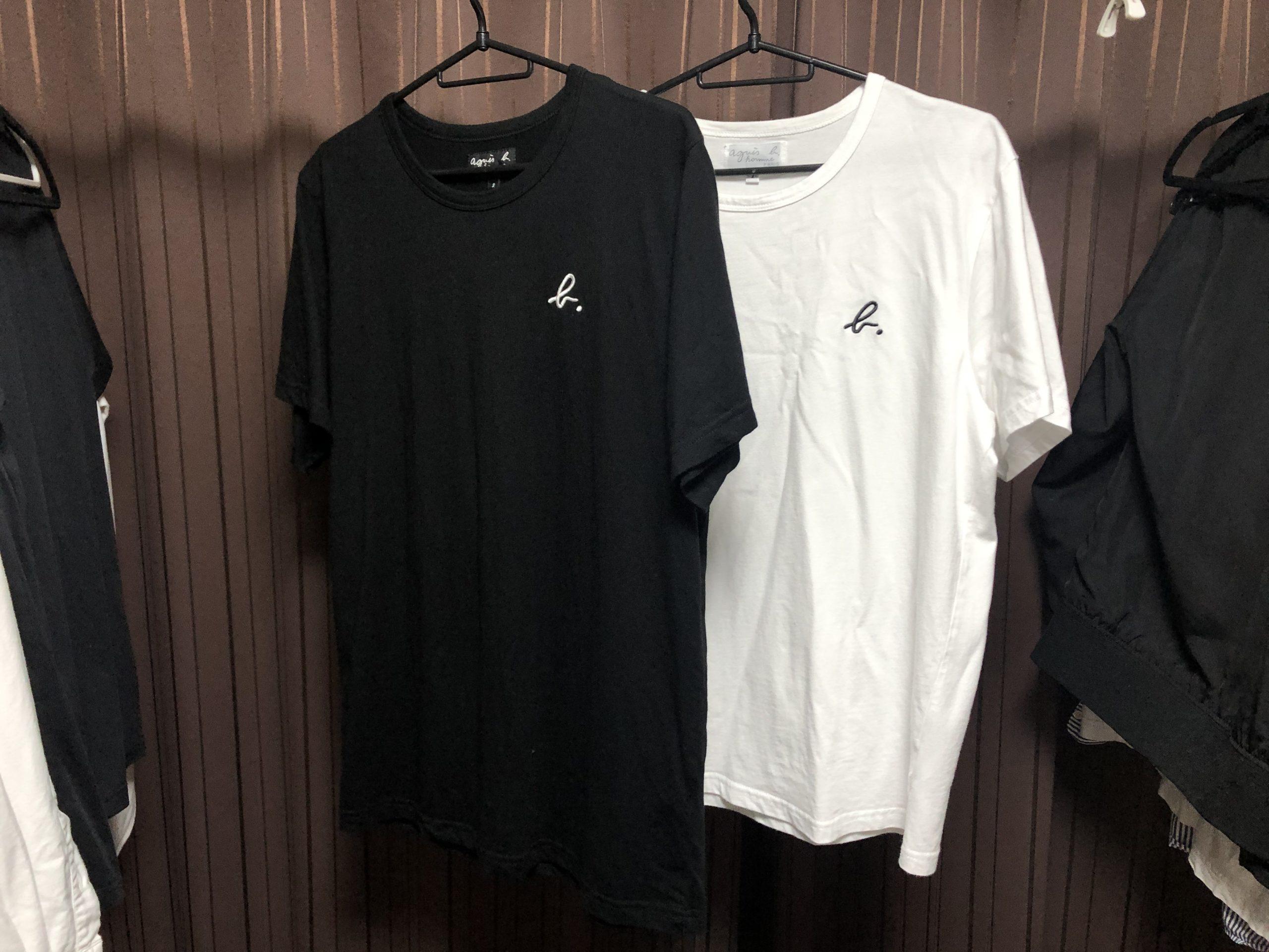 アニエスベーロゴTシャツサイズ感